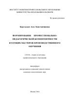 Написание эссе для мастера производственного обучения заказать дипломную в копейске